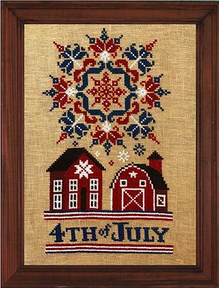 Fireworks on the Fourth by Stone Street Stitchworks