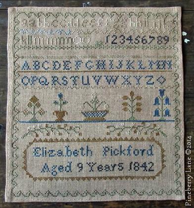 Elizabeth Pickford 1842 by Pineberry Lane