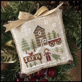 Farmhouse Christmas: Pinewood Farm by Little House Needleworks