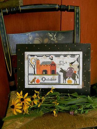 Hallowe'en Barnyard Sampler by Notforgotten Farm