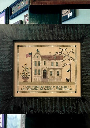 1890 House Sampler by Chessie & Me