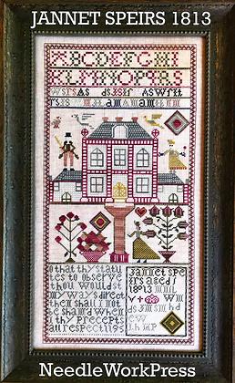 Jannet Speirs 1813 by Needlework Press