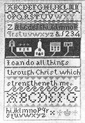 Priscilla's Sampler by Words of Praise
