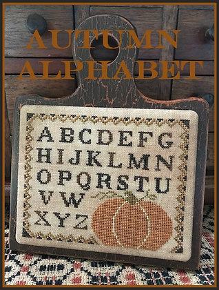 Autumn Alphabet by The Scarlett House