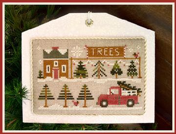 The Tree Lot (Home Town Holiday) by Little House Needleworks/Cl