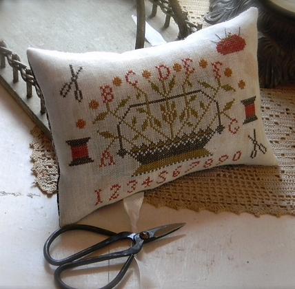 Scissors Pillow by Notforgotten Farm