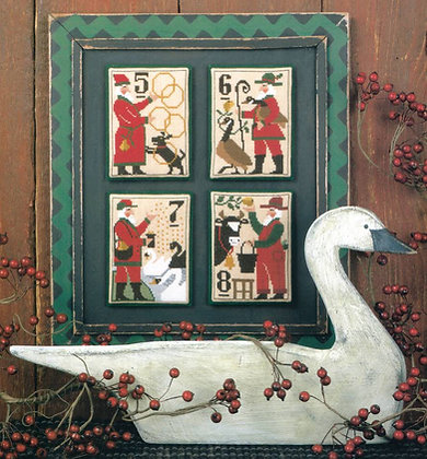 Santa's 12 Days of Christmas 5-8 by The Prairie Schooler