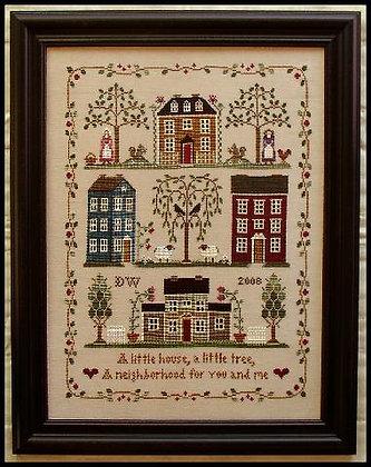 Little House Neighborhood by Little House Needleworks