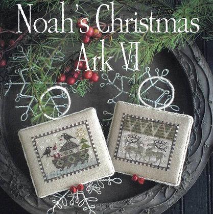 *Noah's Christmas Ark VI by Plum Street Samplers