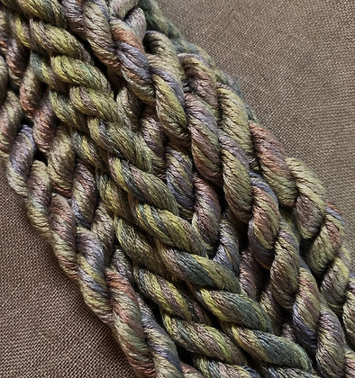Plum Guqin Silk N Colors by The Thread Gatherer
