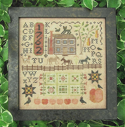 Autumn Harvest Sampler by Kathy Barrick