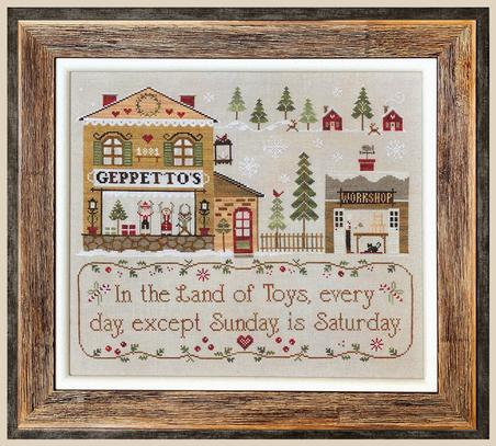 Geppetto's by Little House Needleworks