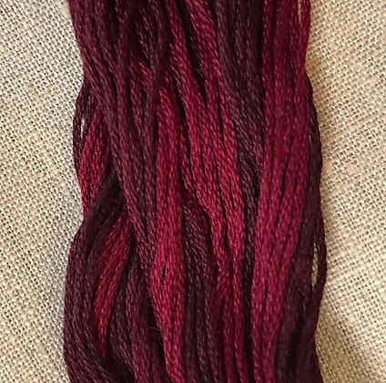 Bing Cherry Classic Colorworks Cotton Threads 5-yard Skein
