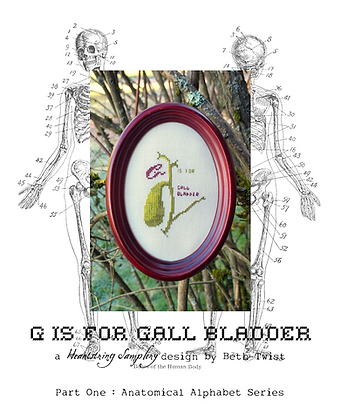 G is for Gall Bladder by Heartstring Samplery