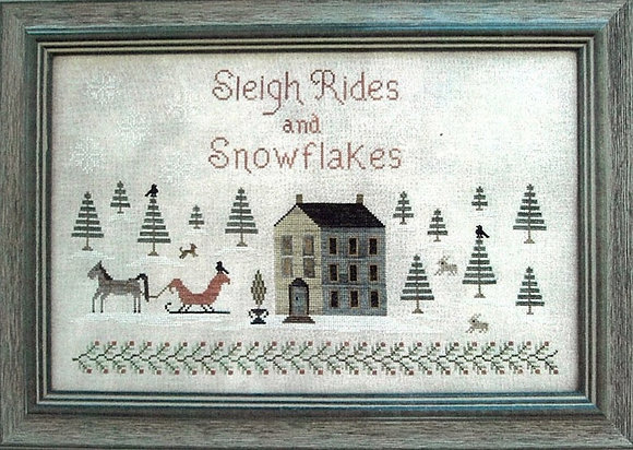 Sleigh Rides and Snowflakes by The Scarlett House