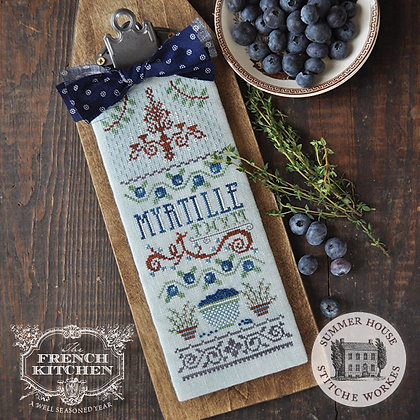 Myrtille et Thym: The French Kitchen by Summer House Stitche Workes