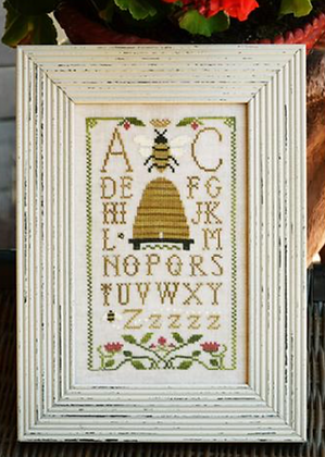 Honeybee Sampling by Little House Needleworks