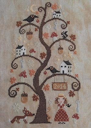 *Autumn Tree by Barbara Ana Designs