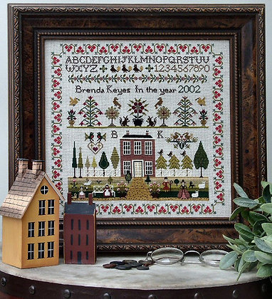 Country House Sampler by The Sampler Compay/Brenda Keyes