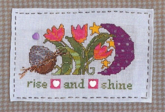 CATS Rise & Shine with Buttons by AB Designs