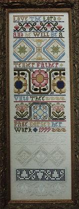 Queen's Grace Sampler by The Samplar Workes