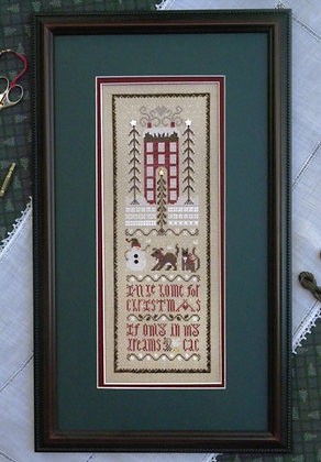 *Christmas Dreams Sampler by The Drawn Thread
