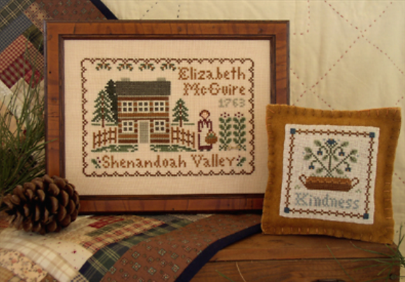 Dear Diary: Elizabeth McGuire 1763 by Little House Needleworks