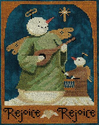 Rejoice Rejoice Snowman by Teresa Kogut