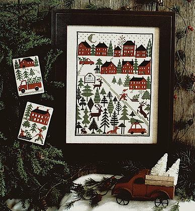 Christmas Tree Farm REPRINT by The Prairie Schooler