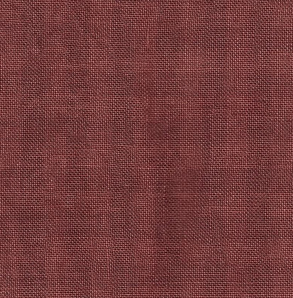 28 Count Aztec Red Gingham 1/8 yard cut Hand-Dyed Linen by Weeks Dye Works