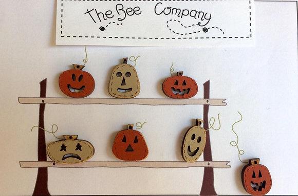 Jack O Lanterns by The Bee Company TBHA8