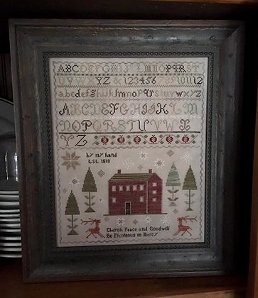 Peace & Goodwill Sampler by Chessie & Me
