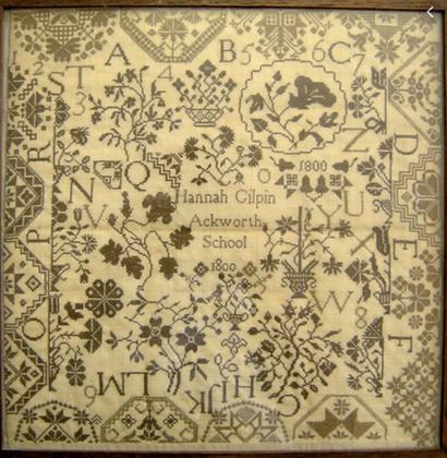 Hannah Gilpin by Needleprint
