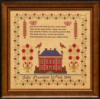 Sally Stansfield 1841 by Hands Across the Sea Samplers