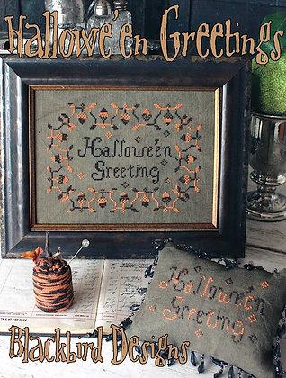 Halloween Greetings by Blackbird Designs