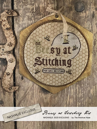 NASH-STASH Beesy at Stitching KIT by The Primitive Hare