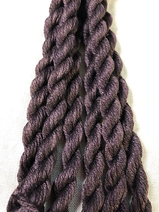 Coffee Bean Gloriana 12-Strand Silk 6 Yards