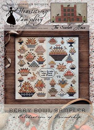 Berry Bowl Sampler by Heartstring Samplery & The Scarlett House