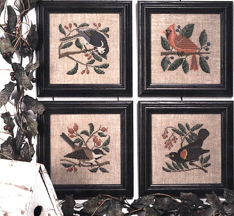Birds & Berries by The Prairie Schooler