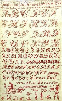 Elena Galvez 1895 by Needlework Press