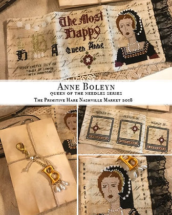 Anne Boleyn Queen of the Needle by The Primitive Hare