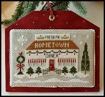 The Diner (Home Town Holiday) by Little House Needleworks/Clas