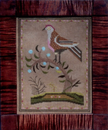 Bird In Bough by The Scarlet Letter