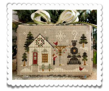 Main Street Station (Home Town Holiday) by Little House Needleworks/Classic Colo
