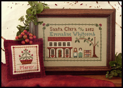 CATS Dear Diary: Emmaline Whitcomb by Little House Needleworks