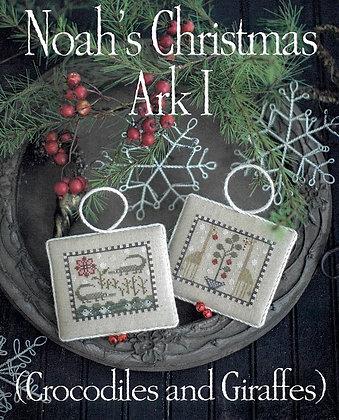 Noah's Christmas Ark I by Plum Street Samplers