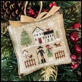 Farmhouse Christmas: Farm Folk by Little House Needleworks
