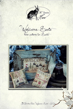 Welcome Santa by The Primitive Hare