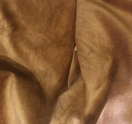 Potato 100% Cotton Velveteen Hand-Dyed by Lady Dot Creates