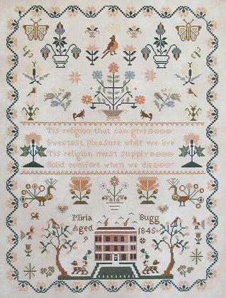 Miria Bugg 1845 by Queenstown Sampler Designs